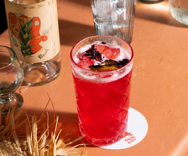 Rosado cocktail