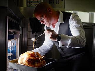 Heston Blumenthal's roast turkey
