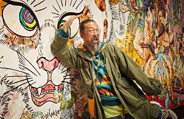 Takashi Murakami: how I eat