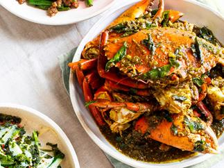 Grandma's Fijian mud crab curry by Louis Tikaram