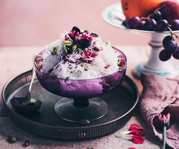 """**[Faloodeh](https://www.gourmettraveller.com.au/recipes/browse-all/faloodeh-18253 target=""""_blank"""")**"""