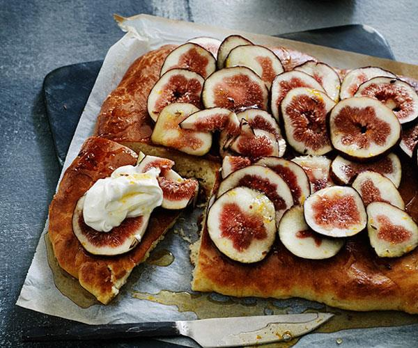 "[**Caramelised fig brioche with lavender honey**](http://www.gourmettraveller.com.au/recipes/browse-all/caramelised-fig-brioche-with-lavender-honey-12215|target=""_blank""