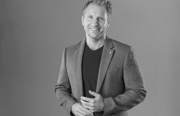 Journalist and Q+A host Hamish Macdonald