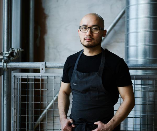 Sunda head chef – and emerging pastry extraordinaire – Khanh Nguyen.