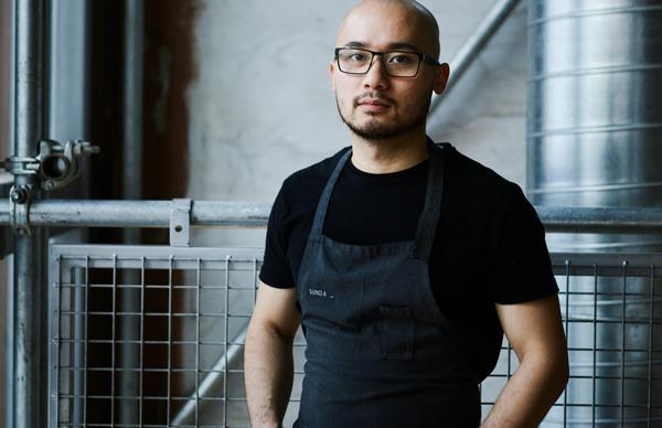 Sunda head chef Khanh Nguyen.