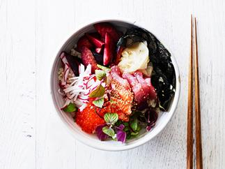 Poke, rice bowls and more