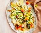 Matt Stone's raw zucchini, pine nut and miso salad