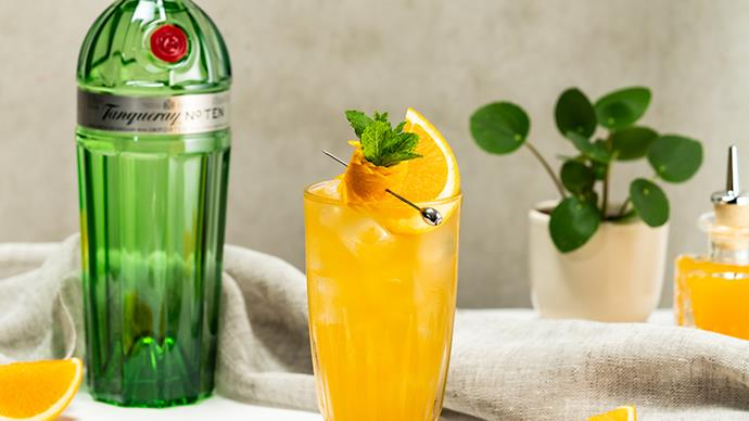 Fragrant Sweet Tanqueray No. TEN Gin Fizz