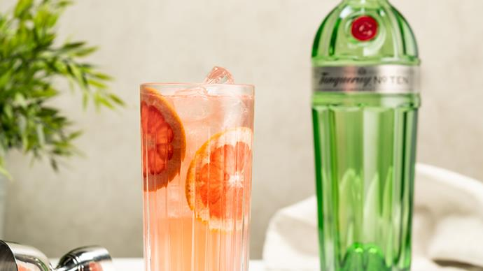 Vibrant Bitters Tanqueray No. TEN Grapefruit Collins