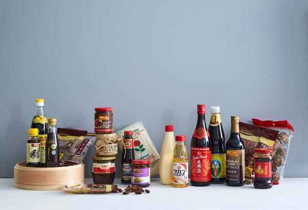 Asian pantry staples
