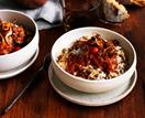 Rice, pasta, lentils, canned tomatoes: koshari is made for self-isolation cooking