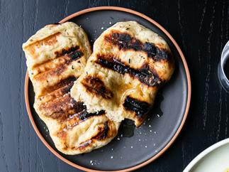 Monique Fiso's grilled kumara bread