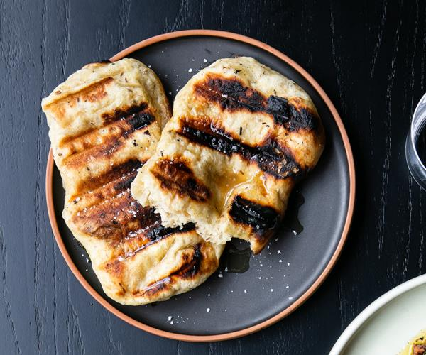 "[**Grilled kumara bread**](https://www.gourmettraveller.com.au/recipes/chefs-recipes/grilled-kumara-bread-18487|target=""_blank""