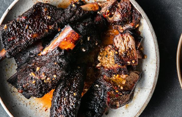 Monique Fiso's barbecue short ribs