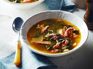 Ham hock soup by Pete Evans