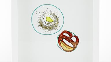 """This Sydney artist is donating proceeds from her work to restaurants, one """"crap drawing"""" at a time"""