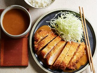 Tonkatsu with curry sauce