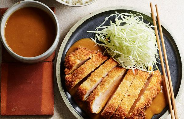 Tonkatsu with curry sauce