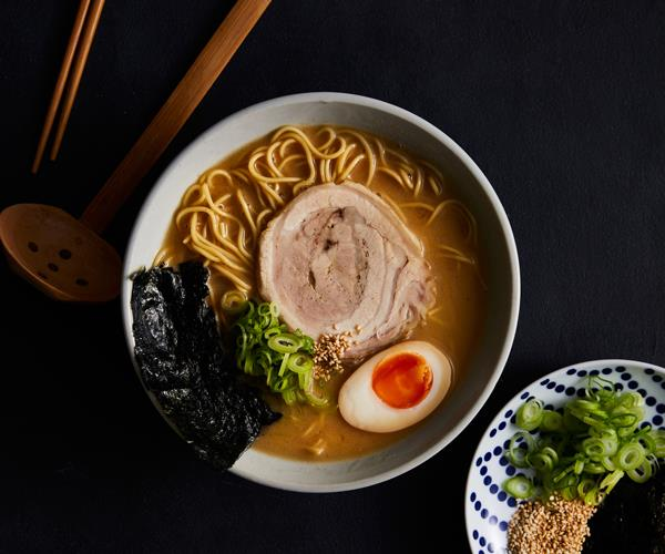 "**[Chaco Ramen's fat soy ramen and kaeshi](https://www.gourmettraveller.com.au/recipes/chefs-recipes/ramen-18577|target=""_blank"")**"