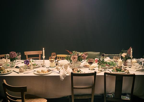 A dining table set