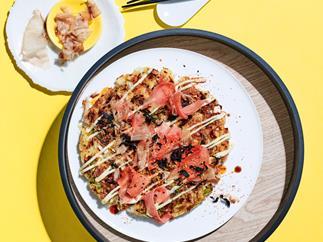 Yoko Dining's okonomiyaki