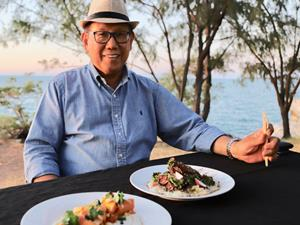 Jimmy Shu on egg noodles, barramundi in Darwin, and his Chinese-Sri Lankan heritage