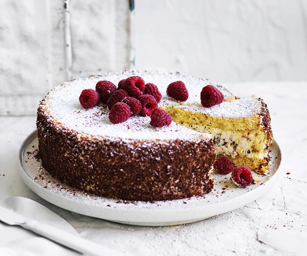 "**[Cassata](https://www.gourmettraveller.com.au/recipes/browse-all/cassata-with-grated-chocolate-12907|target=""_blank""