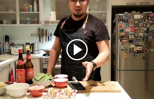 Watch: Junda Khoo makes lobster Indomie goreng
