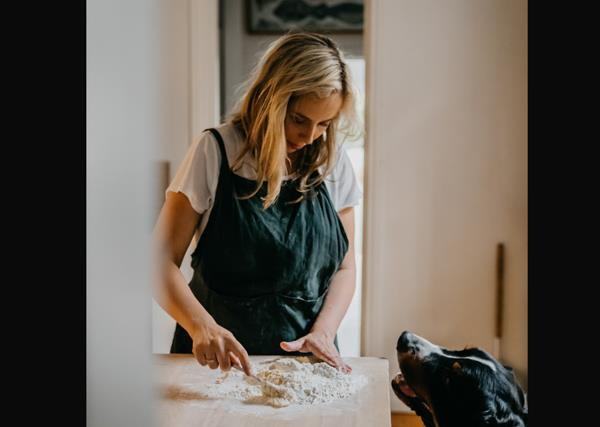 ''Making pasta on Saturday night has become my way of dealing with anxiety''
