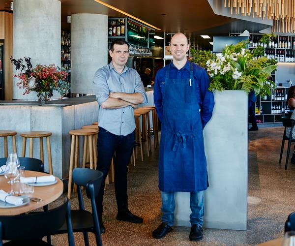 Two guys, a grill and a pizza place: Brent Savage and Nick Hildebrandt set to open pizzeria in Sydney