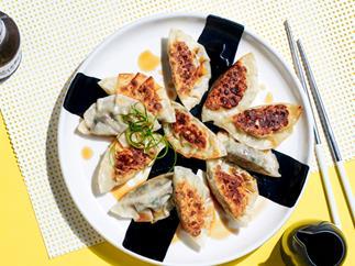 Yoko Dining's mushroom gyoza