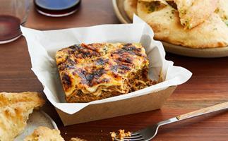 Dan Puskas's mushroom lasagne