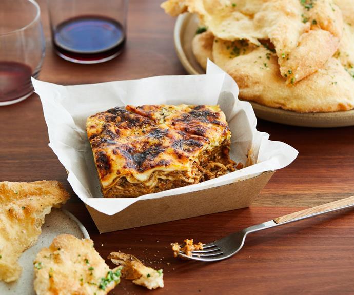 "**[Dan Puskas's mushroom lasagne](https://www.gourmettraveller.com.au/recipes/chefs-recipes/mushroom-lasagne-18823|target=""_blank"")**"