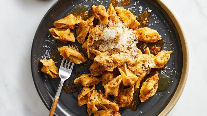 Dan Puskas's sopressini pasta