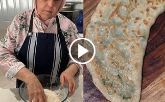 Watch: how to make bolani with Farida Ayubi of Parwana Afghan Kitchen
