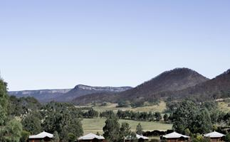 The Blue Mountains resort with Australia's highest density of wombats, and food by an ex-Biota chef