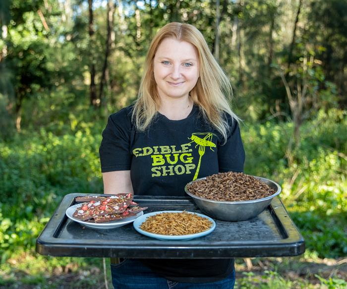 ''There's so many things to like about edible insects''