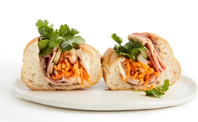 Anatomy of a dish: bánh mì thịt