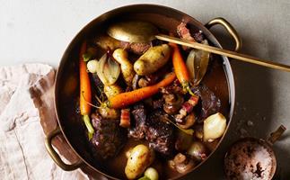 Du Fermier's daube of beef with root vegetables