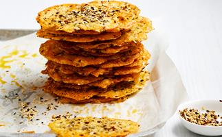 Spiced cheese biscuits