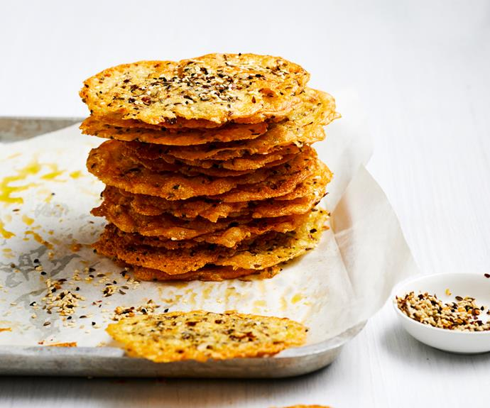 """**[Spiced cheese biscuits](https://www.gourmettraveller.com.au/recipes/fast-recipes/spiced-cheese-biscuits-19154 target=""""_blank"""")**"""