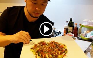 Watch: how to make okonomiyaki with Sokyo's Chase Kojima