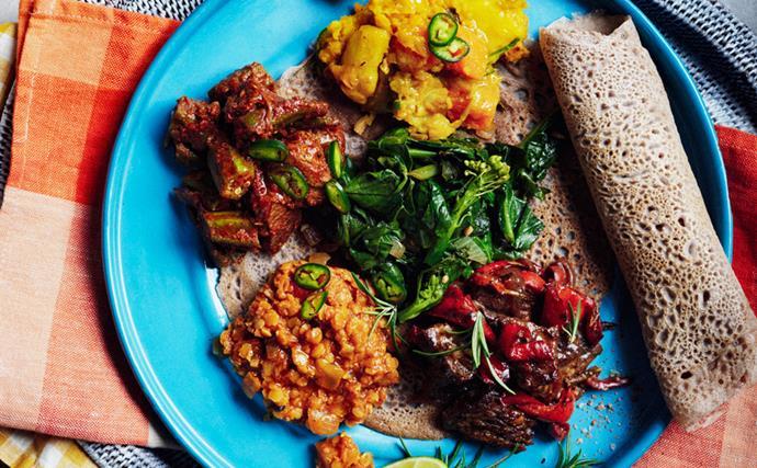 Saba Alemayoh's Ethiopian recipes