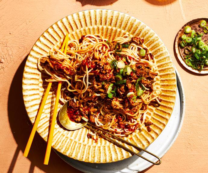 Tony Tan's vegetarian dan dan mian