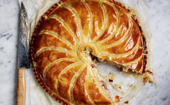 It's a good week to bake a chicken pie