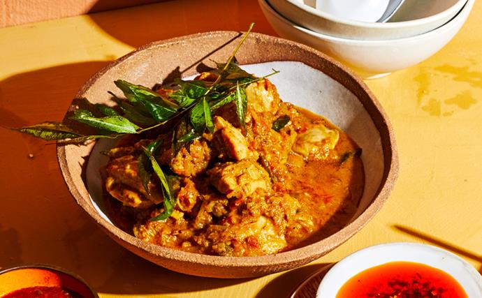 Tony Tan's chicken pepper stir-fry
