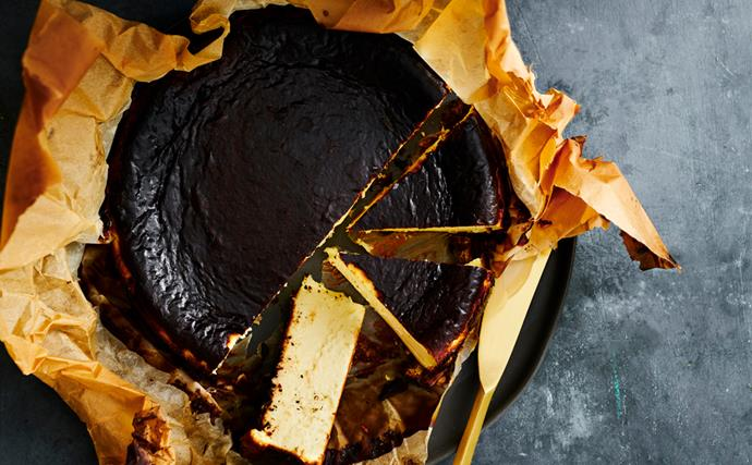 Mat Lindsay's guide to making a Basque cheesecake
