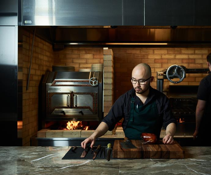 Melbourne chef Khanh Nguyen. His restaurant Aru has been nominated in Best New Restaurant category.