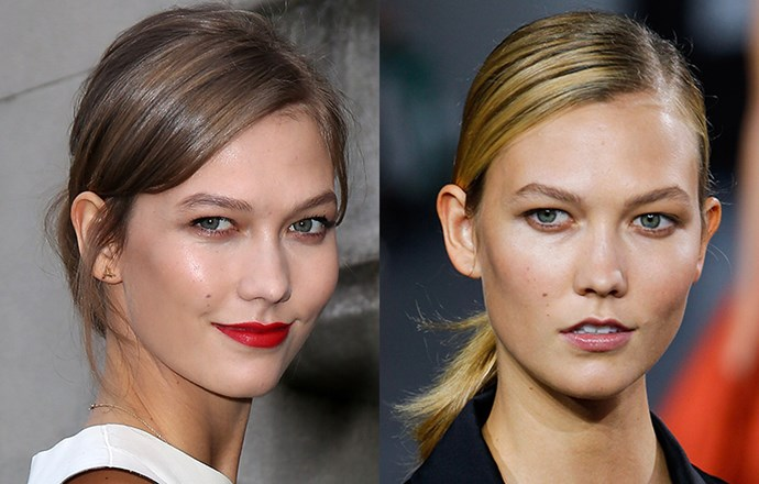<strong>Karlie Kloss</strong> <br>This Victoria's Secret Angel's bob debut transformed her from runway favourite to fully-fledged supermodel. Her latest transformation? Beautiful buttery highlights that play up her olive skin tone and summer tan.