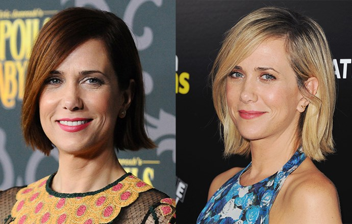 <strong>Kristen Wiig</strong> <br>We love this comedy star's new bright blonde hue, which adds warmth to her yellow-based skin and makes her eyes pop.